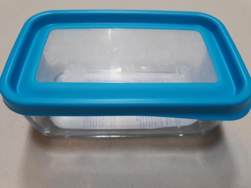 Bormioli Rocco Frigoverre Fun Azzurro tégl. doboz, 21x13 cm, kék, 119807