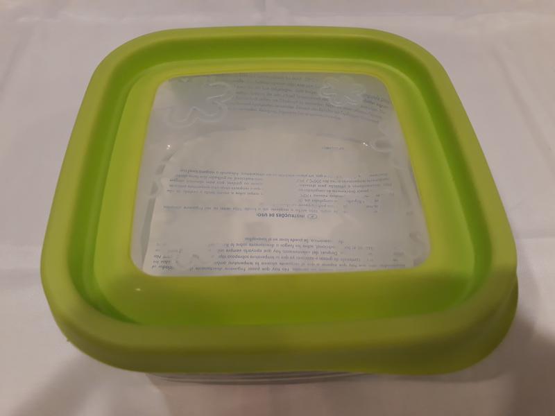 Bormioli Rocco Frigoverre Fun Verde szögletes doboz, 15x15 cm, 119803