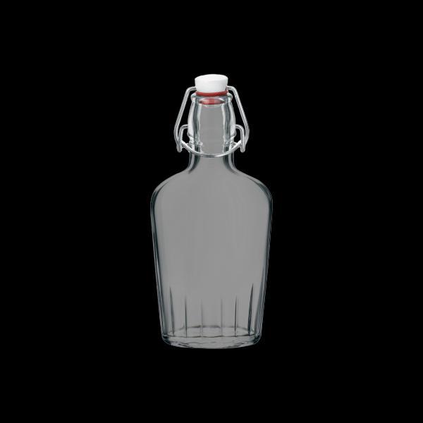 Bormioli Rocco lapos csatos üveg, 0,25 liter, 19 cm, 119076