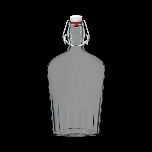 Bormioli Rocco lapos csatos üveg, 0,5 liter, 23 cm, 119754