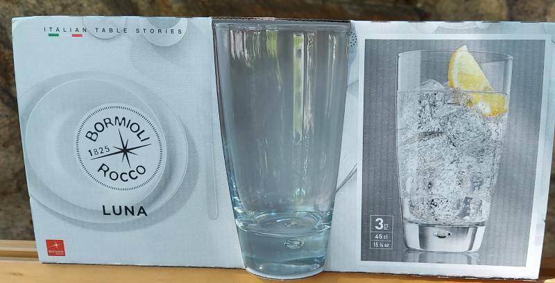 BORMIOLI ROCCO LUNA Cooler pohár, 45 cl, 3 db, 119726