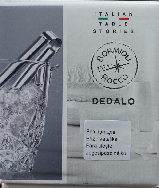 Bormioli Rocco Luxhem Dedalo jégvödör+csipesz, 119072