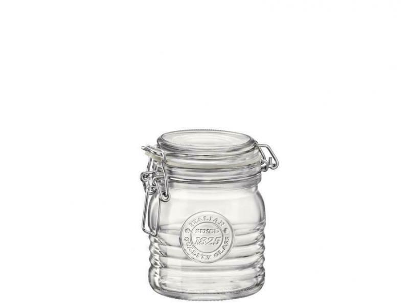 Bormioli Rocco OFFICINA 1825 csatos üveg, befőttes üveg, 0,35 liter