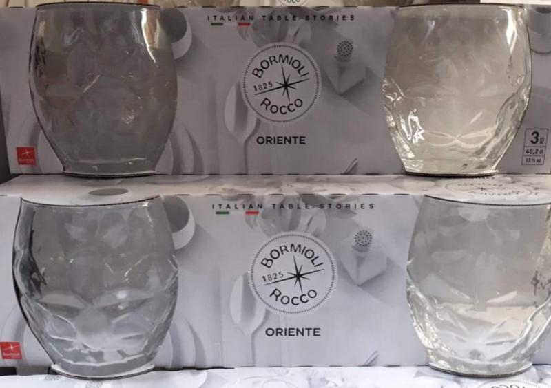 Bormioli Rocco Oriente trans. vizes pohár, 40,2 cl, 3 db, 119912