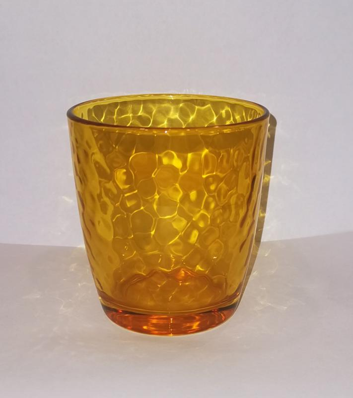 Bormioli Rocco Palatina Multicolor Giallo (citromsárga) üdítős pohár, 1 db, 119063C