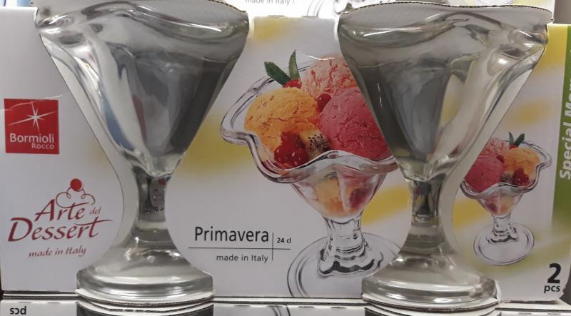 Bormioli Rocco Primavera fagylaltkehely, 24 cl, 2 db, 119059