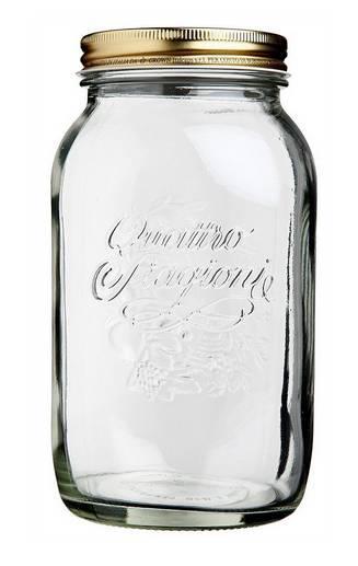 Bormioli Rocco Quattro Stagioni befőttes üveg tetővel, 1,5 liter, 119324