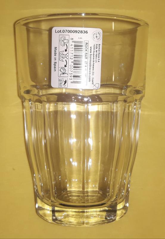 Bormioli Rocco Rock Bar Cooler üdítős pohár, 48 cl, 1db, 119855