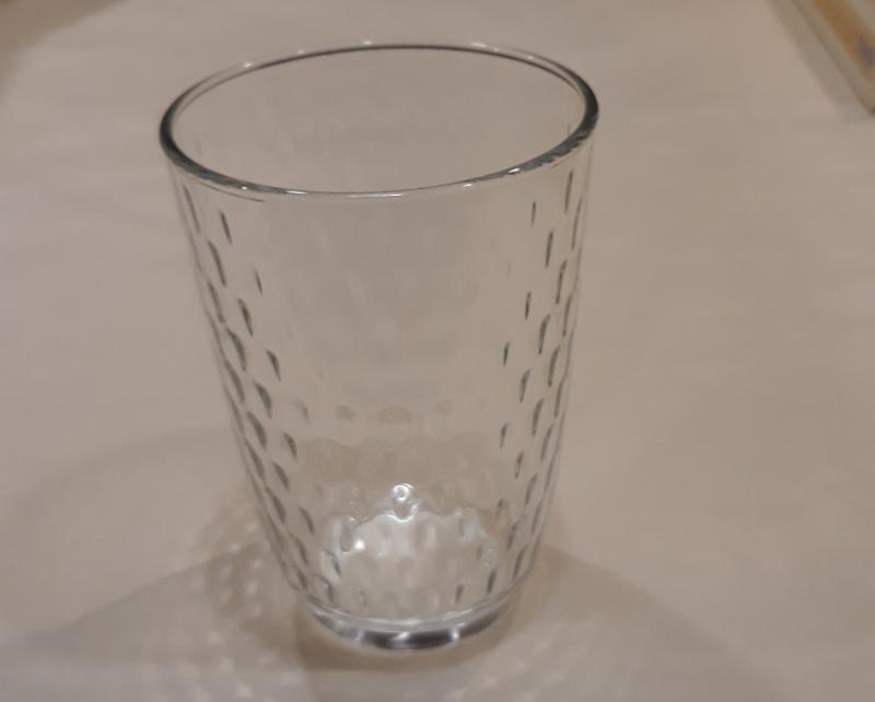 Bormioli SLOT átlátszó üdítős pohár, üveg, 39 cl, 1 db