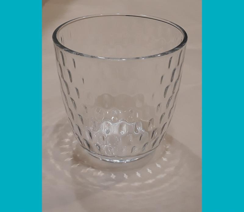 Bormioli SLOT átlátszó vizespohár, üveg, 29cl 1db