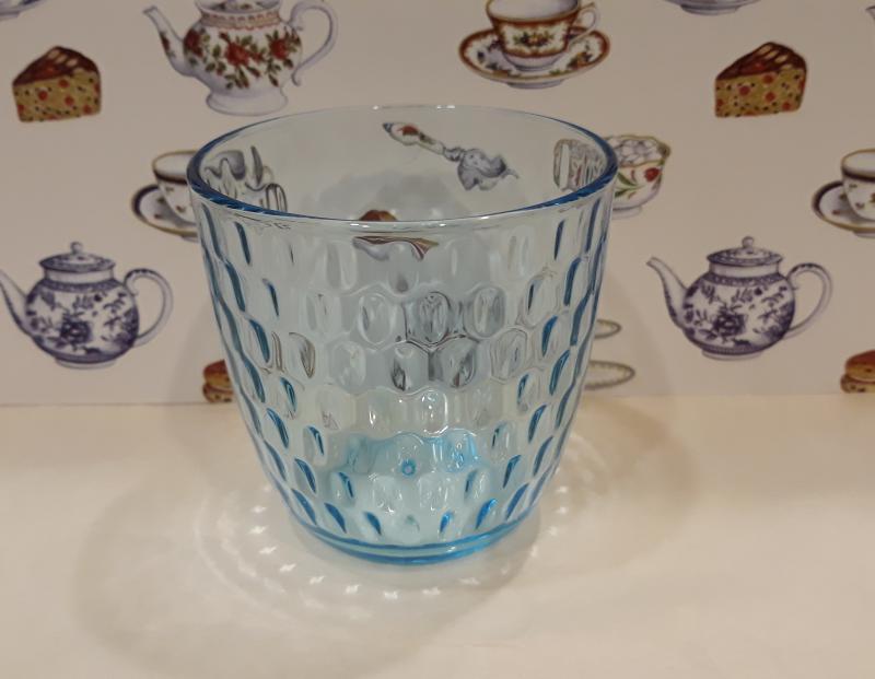 Bormioli SLOT kék vizespohár, üveg, 29cl 1db