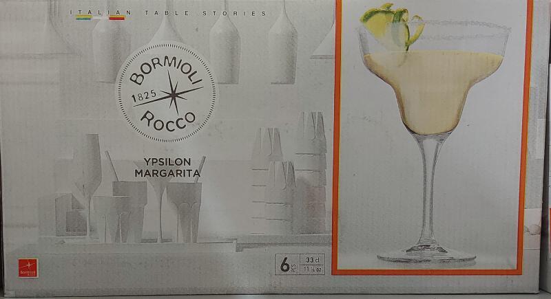 Bormioli Ypsilon Margarita pohár 33cl, 6db