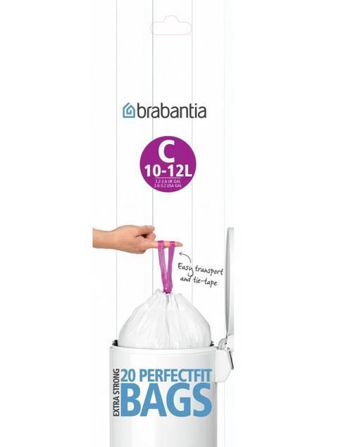 BRABANTA szemeteszsák, 10-12 liter, 20 db, /C/, 180003