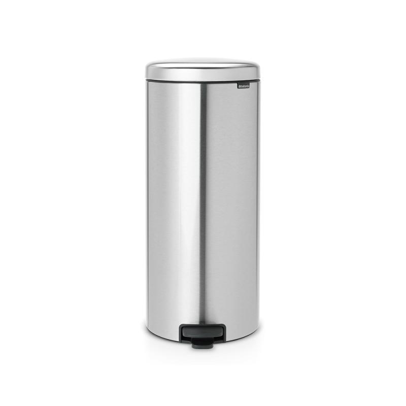 Brabantia Pedal Bin Newicon Matt Steel FPP, 30 liter, ped.szemetes, ujjleny.mentes, 111822, 180198
