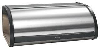 BRABANTIA ROLL TOP MATT STEEL, fém kenyérdoboz, 2 kg, 299445, 180015