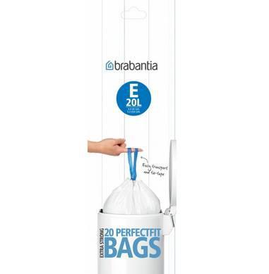 BRABANTIA szemeteszsák, 20 liter, 20 db /E/, 180002