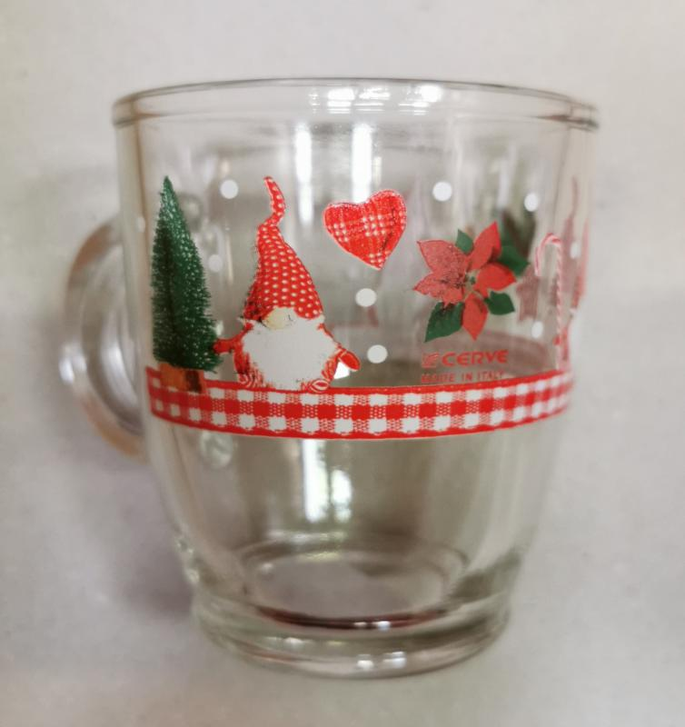 Cerve Christmas karácsonyi manós bögre, 38 cl, 165329