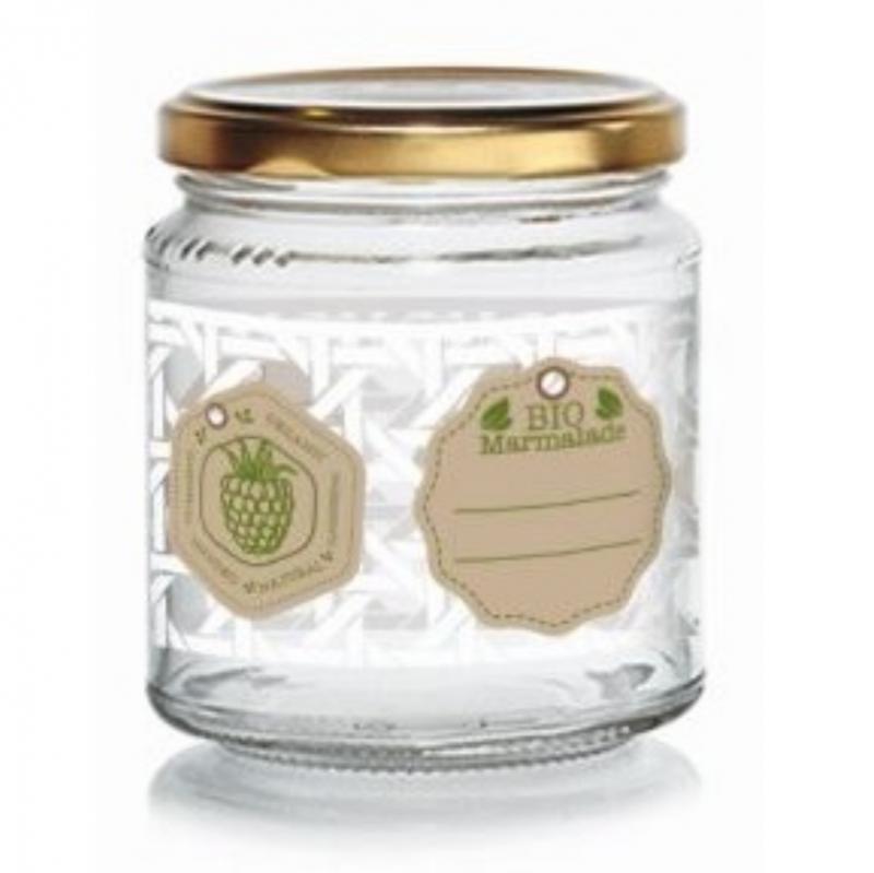 Cerve Green Bio befőttes üveg tetővel, 0,3 liter