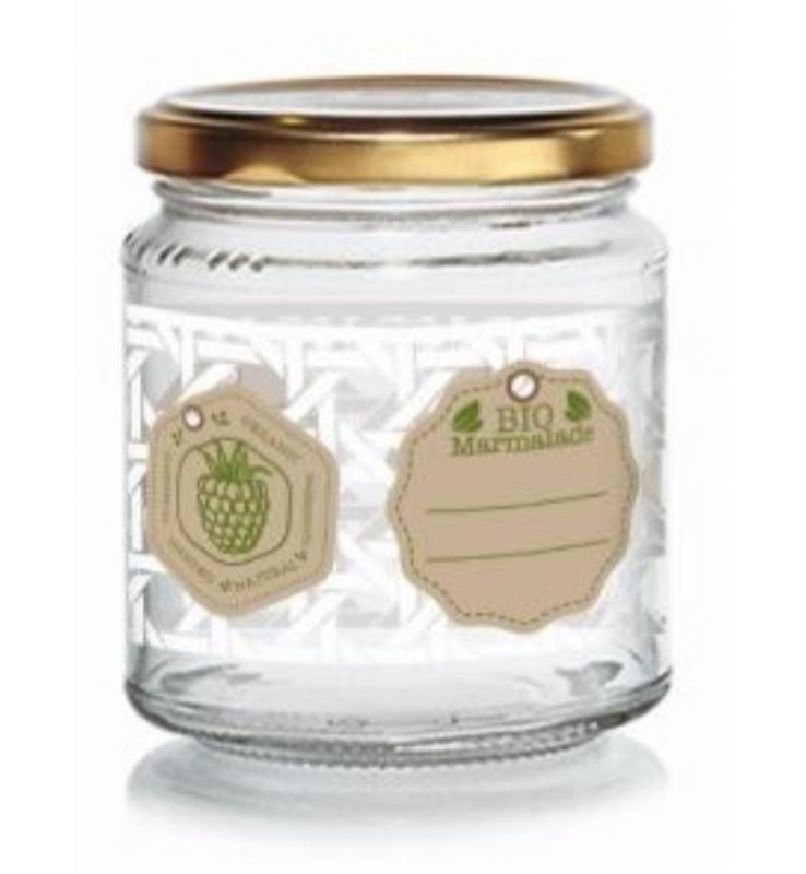 Cerve Green Bio befőttes üveg tetővel, 0,5 liter