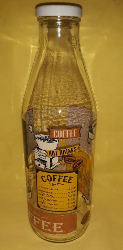 Cerve Italian Coffee tejesüveg, 1 liter, 165317