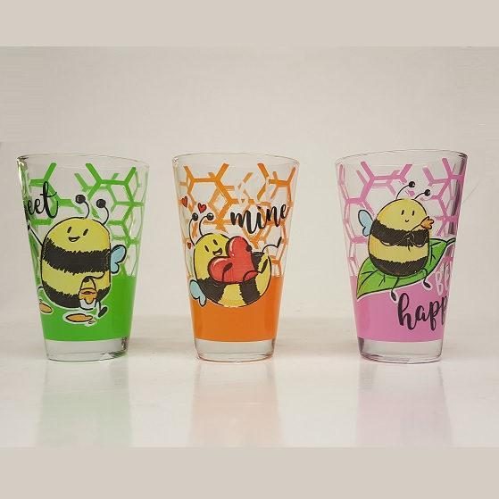 Cerve Nadia Bee üdítős pohár, 31cl, 1db