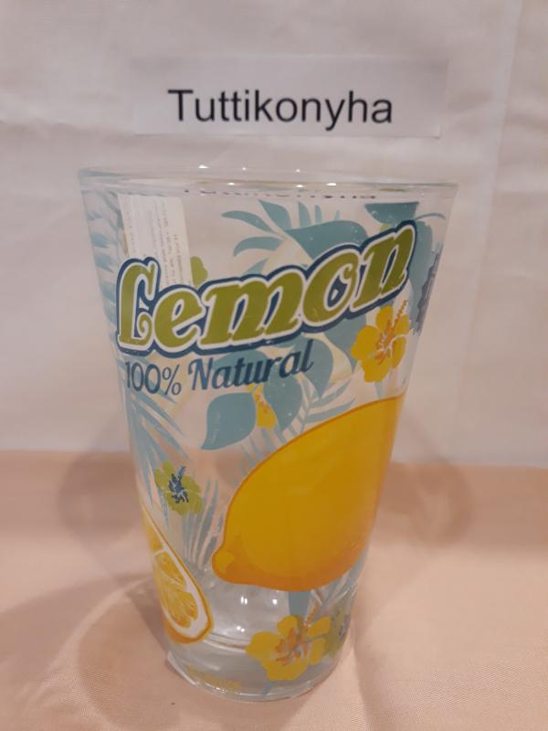 Cerve Nadia citrom vagy narancs mintás üdítős pohár, Maui-Lemon/Orange, 165286