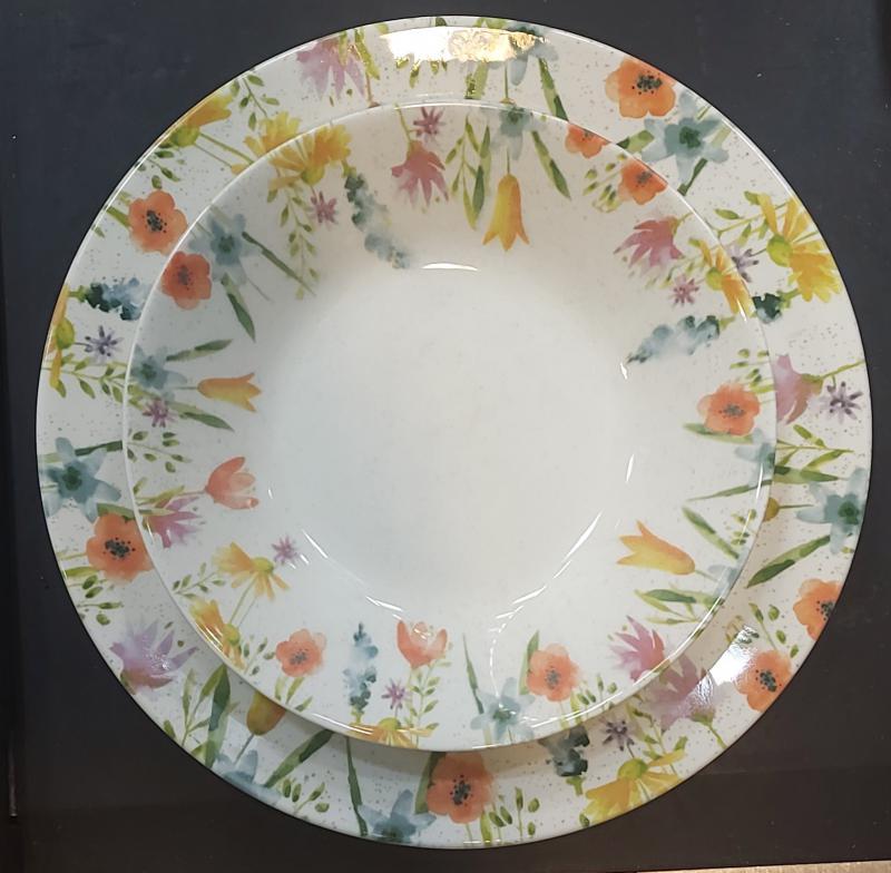 Churchill Aquarelle 18 részes kerámia étkészlet, 407023