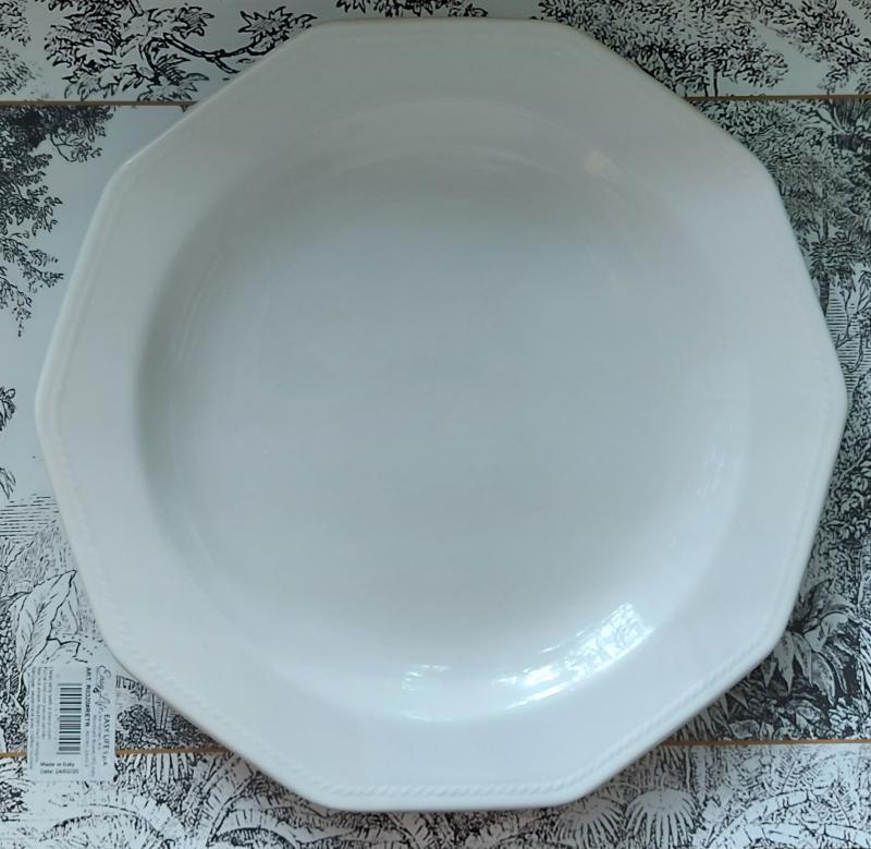CHURCHILL ARTIC WHITE kerámia lapos tányér fehér 26,5cm, 407149LT