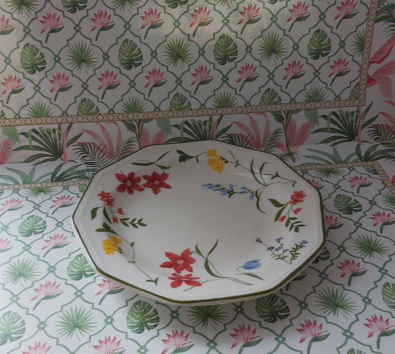 Churchill Floral Blooms kerámia desszert tányér 20 cm, 1 db