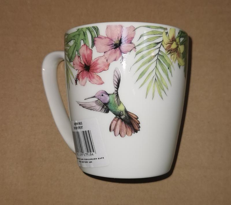 Churchill Reignforest porcelán bögre, 30 cl, 405348