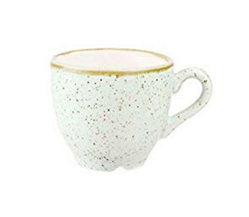 Churchill STONECAST BARLEY WHITE kerámia csésze 10cl, ( Espresso ) 1db, SWHSCEB91