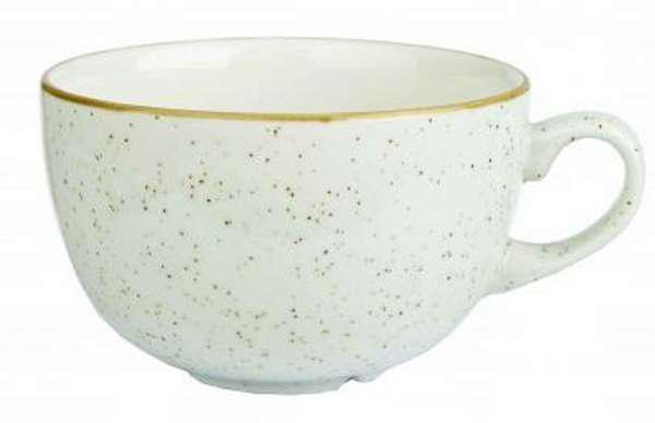 Churchill STONECAST BARLEY WHITE kerámia csésze 34cl, ( Cappuccino, Tea ) 1db, SWHSCB281