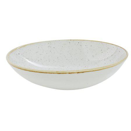 Churchill STONECAST BARLEY WHITE kerámia, kis méretű mély tányér 18,2cm,1db, SWHSEVB71