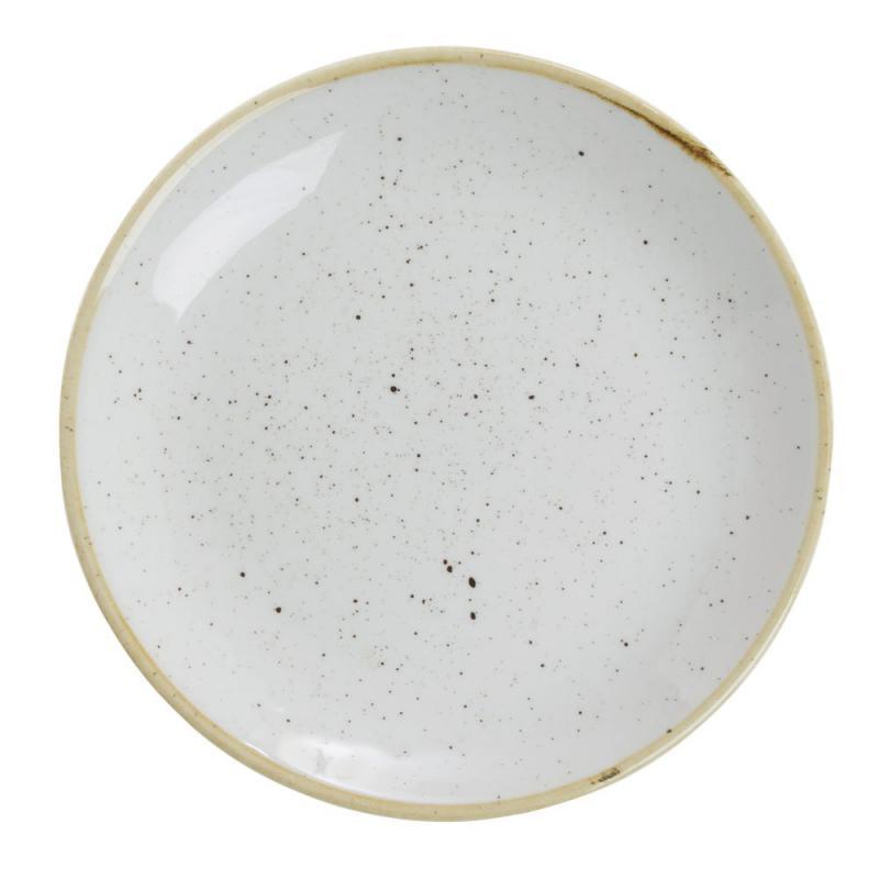 Churchill STONECAST BARLEY WHITE kerámia kisebb lapos tányér (zsemlés,vajas) 16,5cm 1db, SWHSEVP61