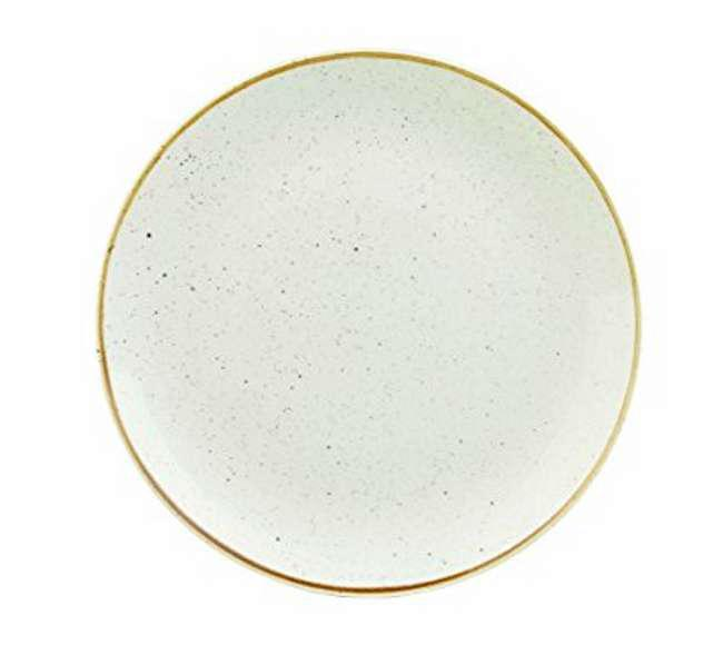 Churchill STONECAST BARLEY WHITE kerámia lapos tányér 26cm 1db, SWHSEV101