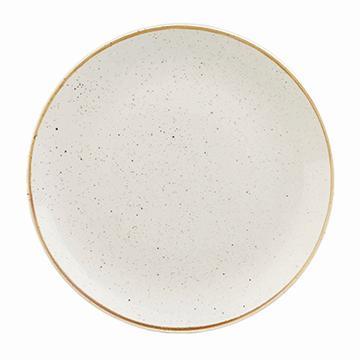 Churchill STONECAST BARLEY WHITE kerámia nagy, lapos, alátét tányér 32cm 1db, SWHSEV121