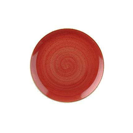 Churchill STONECAST BERRY RED kerámia desszert tányér 21,7cm 1db, SBRSEVP81
