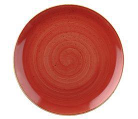 Churchill STONECAST BERRY RED kerámia lapos tányér 28,8cm 1db, SBRSEV111