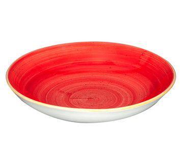 Churchill STONECAST BERRY RED kerámia mély tányér 24,8cm 1db, SBRSEVB91