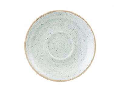 Churchill STONECAST DUCK EGG BLUE kerámia csészealj ( Cappuccino ) 15,6cm 1db, SDESCSS 1