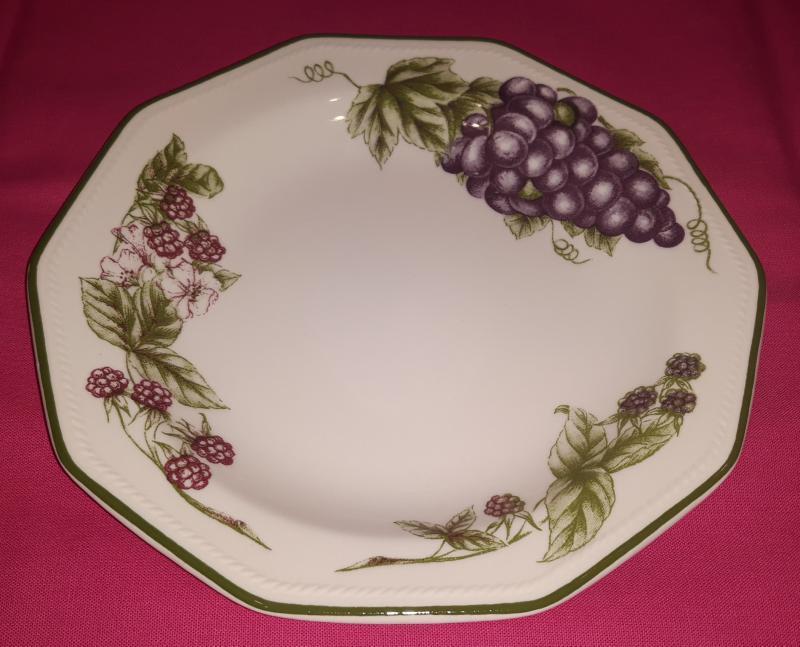 Churchill Victorian Orchard desszert tányér, 20cm, kerámia, 407058DT