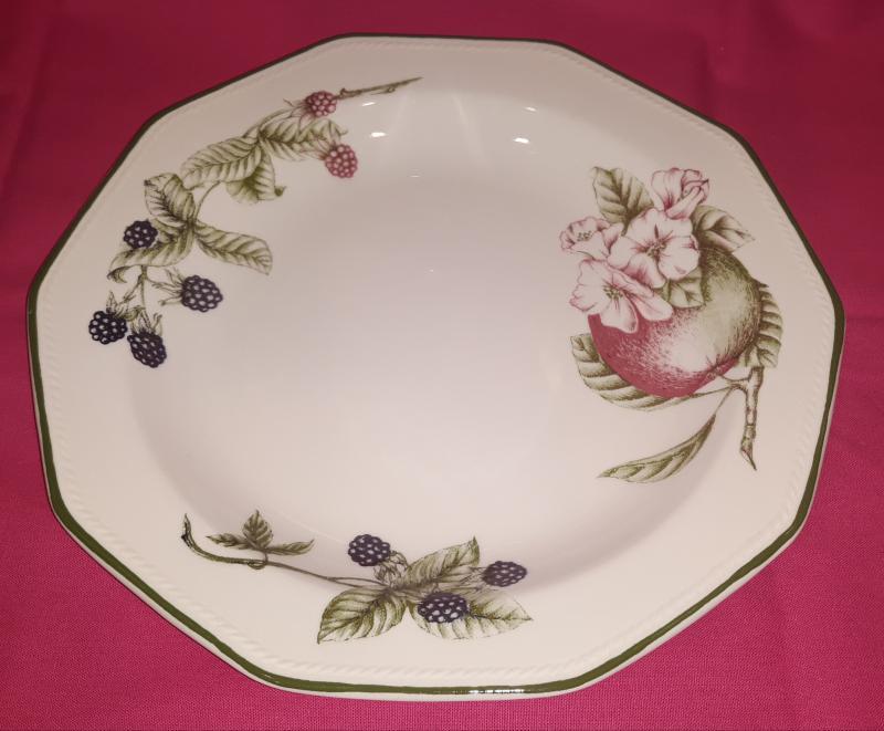 Churchill Victorian Orchard lapos tányér, 26cm, kerámia, 407058LT