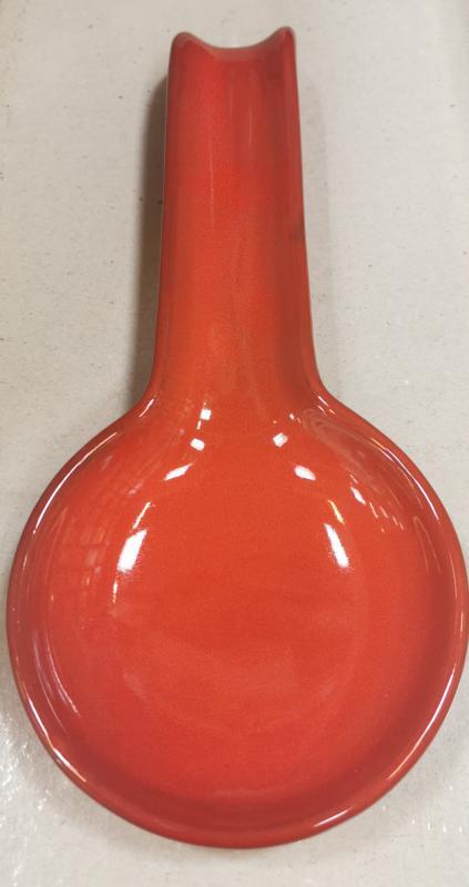De Silva cserép fakanáltartó, piros, nagy, 150188