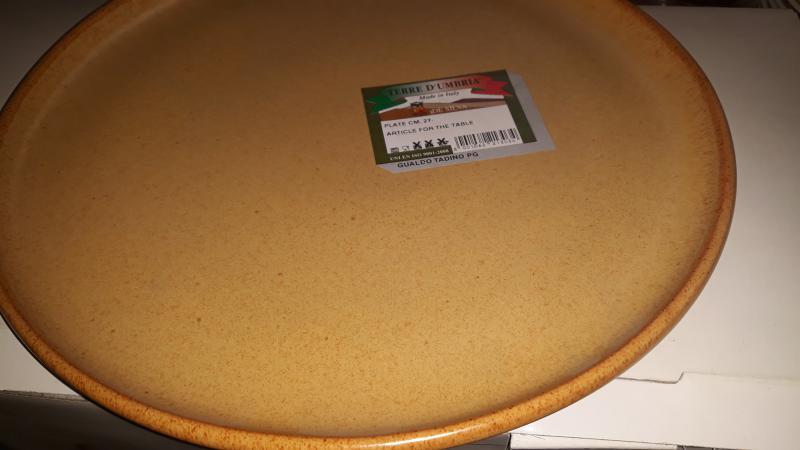 De Silva cserép lapos tányér, 27 cm, 150029