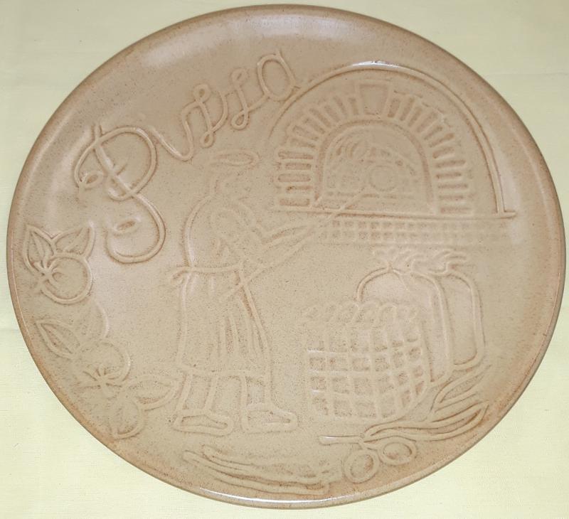 DE SILVA Tabacco cserép pizzatál, 31 cm, 150064