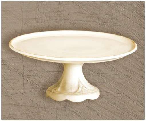 Dekor Pap 80106 Antikolt natúr kerámia tortatál 16x34cm