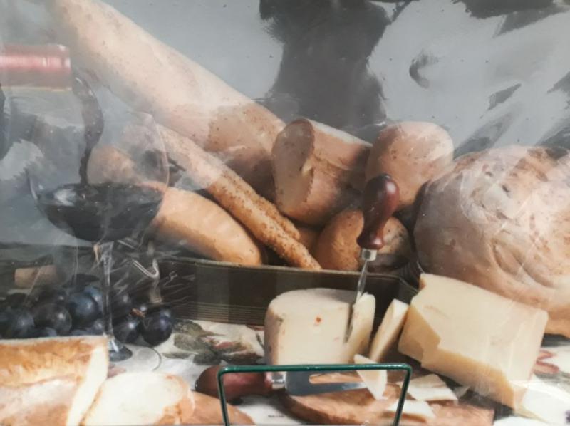 Delta műanyag reggeliző alátét, Bread (kenyér), 45X30 cm, ART T2230D727
