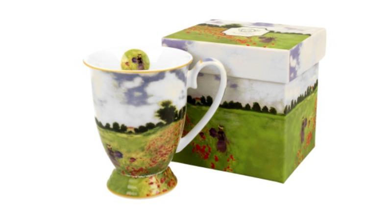 D.G.23312 Porcelánbögre 300ml, Monet: Pipacsmező