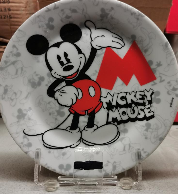 Disney Mickey 90 kerámia tányér, 1 db, 265003