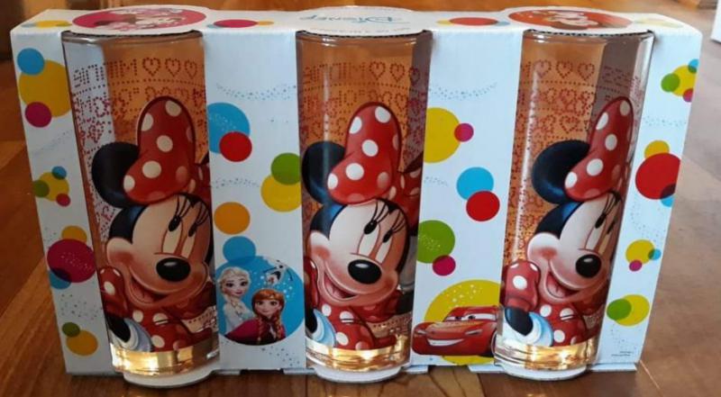 Disney Minnie üdítős pohár szett, 27 cl, 263004